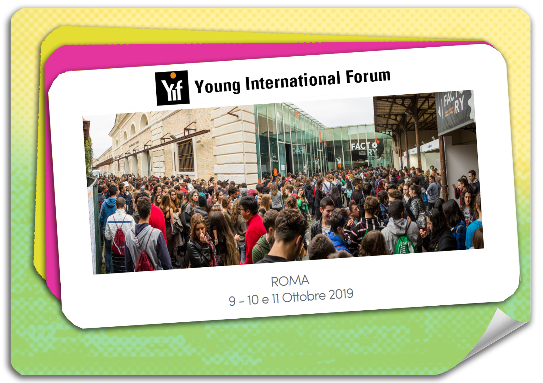 Torno Subito partecipa a Young International Forum 2019